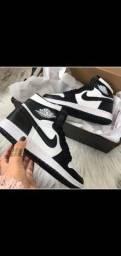 Título do anúncio: Nike Jordan Black /branco