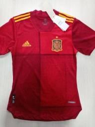 Título do anúncio: Camiseta Seleção da Espanha 2021