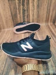 Título do anúncio: Tênis New Balance Preto/Black/Nude