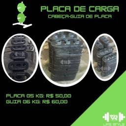 Título do anúncio: Placa de carga e cabeça-guia para aparelhos - R$ 10,00/kg - Leia a descrição