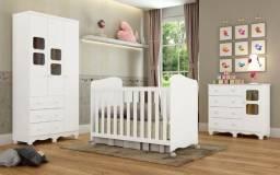 Quarto de Bebê Completo Uli - Oferta da semana R$ 1.087,00