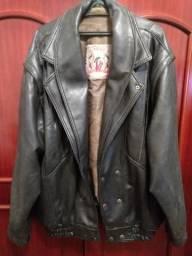 Jaqueta masculina em couro - original italiana