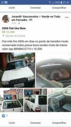 Carro Fiat mile - 2006
