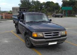 Picape Ford Ranger Caminhonete carroceria de madeira - 1997