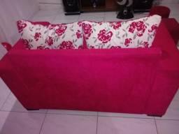 Vendo sofá bem conservado valor 250