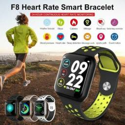 Relógio Smart Whatch Touch F8 Sport Fitness Android E Ios