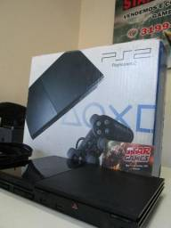 PlayStation 2 com Kit 8000 jogos star games_