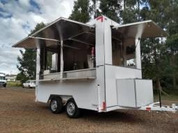 Veiculos trailer kombi furgão de lanche