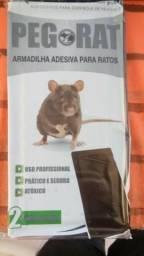 1 Par De Armadilha Placa Cola Rato
