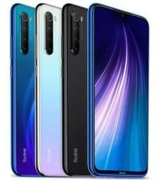 Celular - Celular Xiaomi Note 8 64GB Rom 4GB Ram Dual Versão Global Neptune Blue