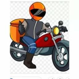 Vaga Moto Boy para entregar lanche