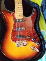 Caser e guitarra