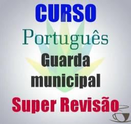 Aula de português - guarda municipal