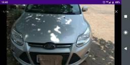 Ford: Focus SE.2014/2014 Aut. Flex.Prata - 2014