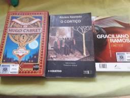 Lote de livros de literatura (50 unidades) aceito troca