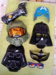 5 Mascaras 1 mao de ferro replica