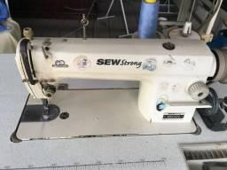Máquina Reta Industrial com lubrificação automática Sew Strong BSS8570