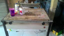 Mesa a vácuo para silkscreen