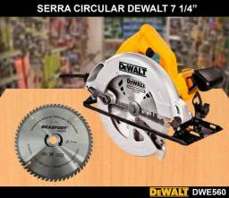 Serra Circular Dewalt - 1400W DWE560 - 7.1/4 POL