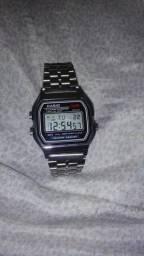 020e7a07e76 Relógio CASIO vintage prata