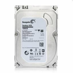 HD 1TB Seagate, para Pc ou DVR, Sata3, Novo, original, lacrado de fábrica, com garantia