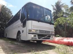Ônibus volvo B10M busscar 360 leia o anuncio - 1991
