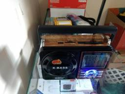 Radio AM-FM- com funções AUX-USB-CARD