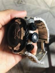 (Promoção) relógio Invicta Bolt model 21358 - Prateado Escamado