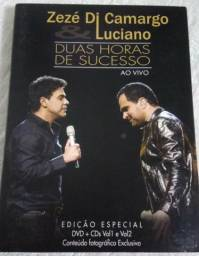 Dvd + Cd Zezé e Luciano