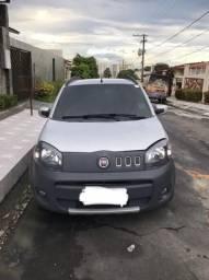 Fiat uno Way Prata - 2012