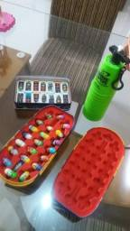 Kit Torre Copos + Mighty Beanz + Dominó Thor Kit