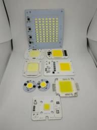 Chip leds reposição de refletor led 50w varios modelos 220v