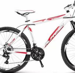 Bike Alfameq com kit shimano e frio a disco