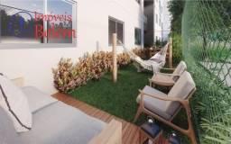Apt 2/4 sendo 1 suíte 72 m² c/ amplo garden