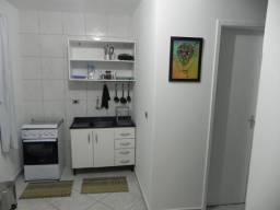 Ap-Kitnet mobiliada com garagem dir. proprietário. Sem Condomínio, Água Verde-Curitiba