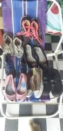 Sapatos 5,00 cada