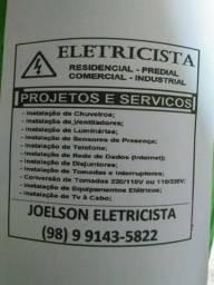 Serviços elétricos e hidráulicos (leia a descrição)