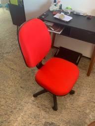 Cadeira portflex vermelha