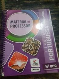 Livro Com Respostas Material Do Professor  Língua Portuguesa 9° Ano