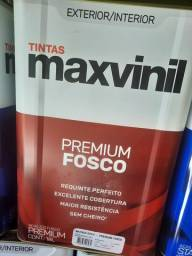 Oferta tinta 18L maxvinil primeira linha na Cuiabá tintas  - preço relâmpago