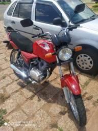 Cg 150 2004  Vendo ou troco moto zerada
