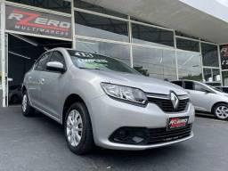 Renault Logan 2018 Expression Completo 1.0 Flex Multi Mídia 78.000 Km Novo Revisado