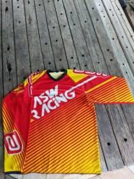 Título do anúncio: Camisa trilha asw racing G