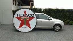 Título do anúncio: Placa Esmaltada Texaco 1,85 Metros Dupla Face