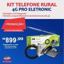 Título do anúncio: Kit Celular Rural Telefone + Cabo + Antena ? Entrega grátis