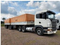 Título do anúncio: Conjunto Caminhão Scania G420 e Bitrem Graneleiro