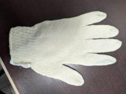 Título do anúncio: Luva de segurança tricotada com fios de algodão e poliéster, antiderrapante