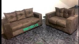 Título do anúncio: sofá 3 e 2 lugares novo