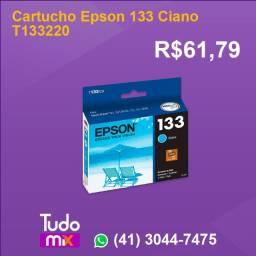 Cartucho Epson 133 Ciano T133220.