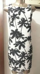Título do anúncio: Vestido tropical da leader Tam G Semi novo.